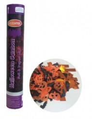 Cañón de confetis de papel 30 cm Halloween