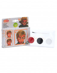 Kit de maquillaje demonio niño Halloween