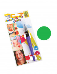 Rotulador de maquillaje verde