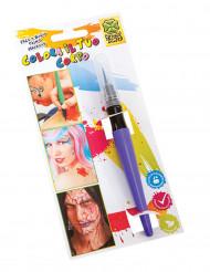 Rotulador de maquillaje violeta