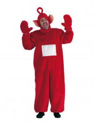 Disfraz de telebebé rojo adulto