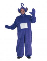 Disfraz telebebé violeta adulto