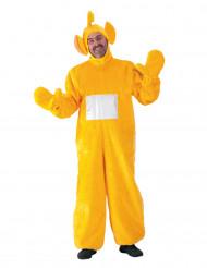 Disfraz telebebé amarillo adulto