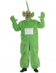 Disfraz telebebé verde adulto