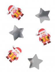 Confetis gigantes Papá Noël 11 cm