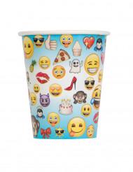 8 Vasos de cartón Emoji™
