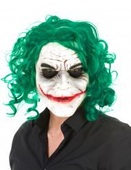 Máscara látex arlequín psicópata adulto Halloween