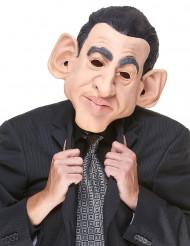 Máscara humorística látex Nicolás adulto