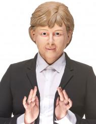 Máscara humorística látex Ángela adulto