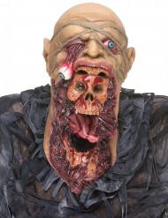 Máscara zombie devorador látex adulto