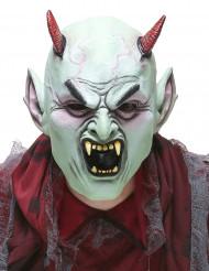Máscara látex diablo enfandado adulto