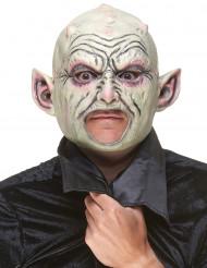 Máscara látex gnomo con granos adulto