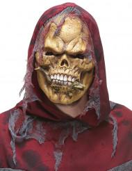Máscara esqueleto devorador látex adulto