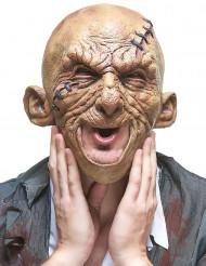 Máscara látex muerto viviente adulto