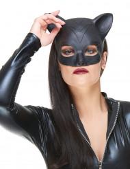 Semi máscara gato látex mujer adulto