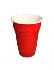 10 Vasos rojos 25 cl