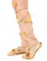 Sandalias romanas con cordón mujer