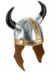 Casco vikingo metálico adulto
