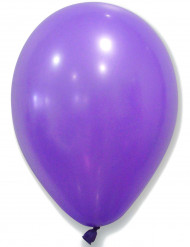 50 Globos violetas