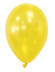 50 Globos amarillos metálicos