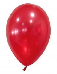 50 Globos rojos metálicos