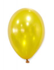 50 Globos dorados metálicos