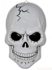 Decoración colgante esqueleto fosforescente 56 cm Halloween