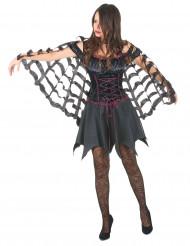 Capa araña mujer Halloween