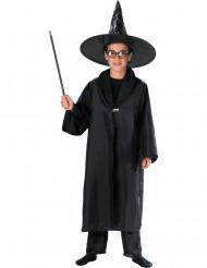 Capa brujo mago negra niño