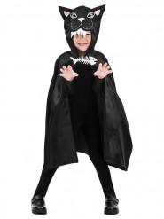 Capa de gato 75 cm niño Halloween