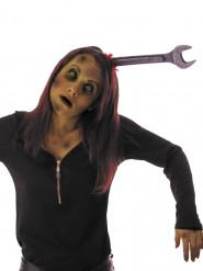 Diadema llave inglesa ensangrentada adulto Halloween