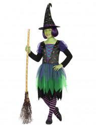Disfraz bruja lunar niña Halloween