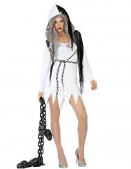 Disfraz de fantasma sexy mujer Halloween