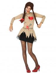 Disfraz de muñeca vudú mujer
