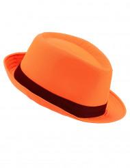 Sombrero borsalino naranja adulto