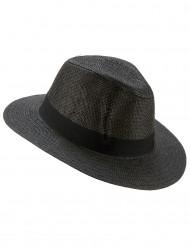 Sombrero Panamá gris adulto