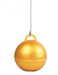 Peso globo helio dorado