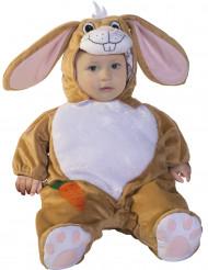 Disfraz de conejo deluxe bebé