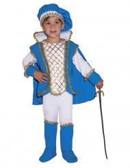 Disfraz de príncipe encantado azul niño