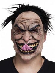 Máscara látex psicópata adulto