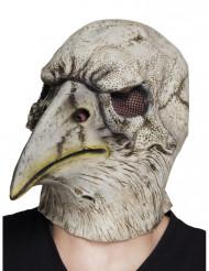 Máscara de látex águila adulto