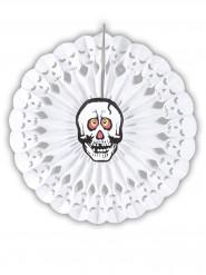 Rosetón calavera 50 cm Halloween