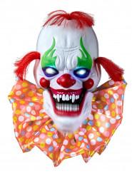 Decoración luminosa y sonora payaso terrorífico 58 cm Halloween