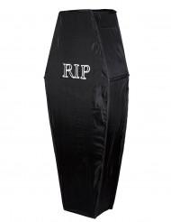 Sarcófago negro RIP 150 cm Halloween