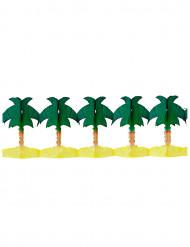 Guirnalda papel palmeras 4 metros