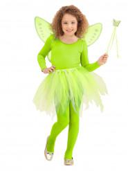 Accesorios de princesa hada verde niño