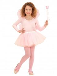 Kit accesorios princesa de las hadas rosa infantil