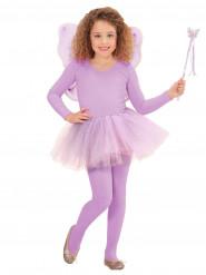Accesorios hada princesa violeta niña