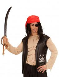 Camisa pirata con accesorios adulto