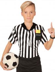 Camiseta de árbitro de fútbol niño